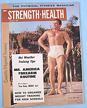 Strength & Health Magazine, August 1959 Terry Robinson