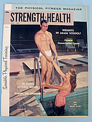 Strength & Health Magazine, July 1959 - Bert Elliott