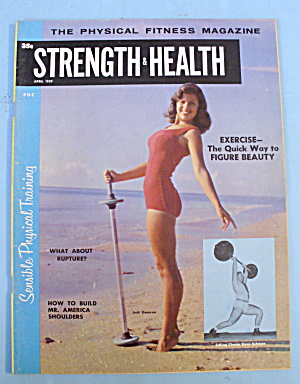 Strength & Health Magazine, April 1959 - Judi Damron
