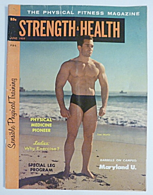 Strength & Health Magazine June 1959 Sam Martin