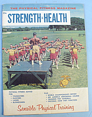 Strength & Health Magazine, January 1959 - Marine Corps