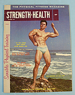 Strength & Health Magazine-october 1958-tom Drescher