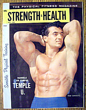 Strength & Health Magazine, May 1960 - Tom Sansone