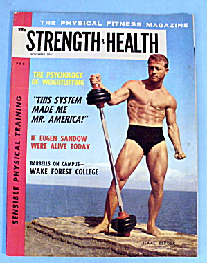 Strength & Health Magazine, November 1961- Isaac Berger