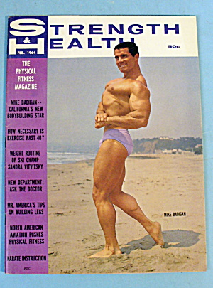 Strength & Health Magazine, February 1964 Mike Dadigan