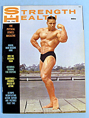 Strength & Health Magazine, February 1965 Bill Pearl