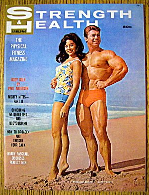 Strength & Health Magazine April 1965 Larry & Veronica