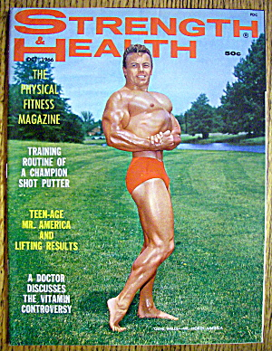 Strength & Health Magazine October 1966 Gene Wells