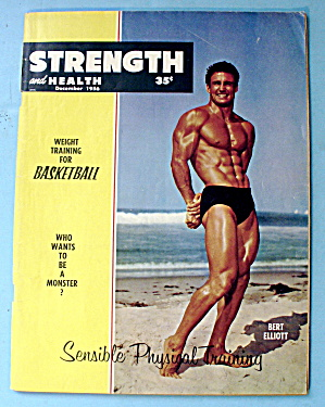 Strength & Health Magazine December 1956 Bert Elliott
