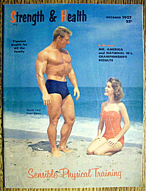 Strength & Health Magazine October 1957 Ron & Karen