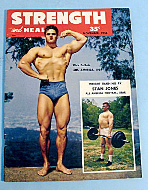 Strength & Health Magazine November 1954 Dick Dubois