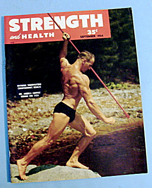Strength & Health September 1954 Al Christensen