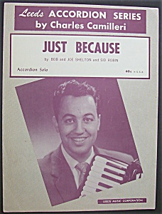Sheet Music For 1959 Just Because