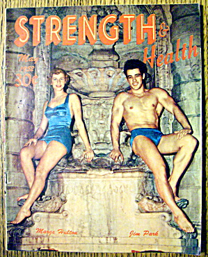 Strength & Health May 1952 Jim Park & Marge Hulton