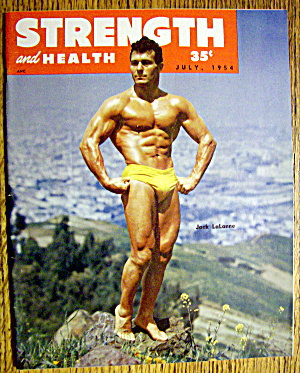 Strength & Health Magazine July 1954 Jack Lalanne