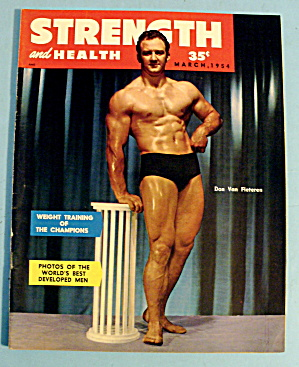 Strength & Health Magazine March 1954- Don Van Fleteren