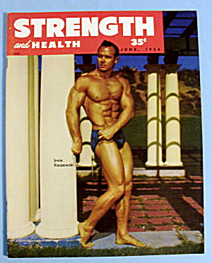 Strength & Health Magazine, June 1954 - Irvin Koszewski