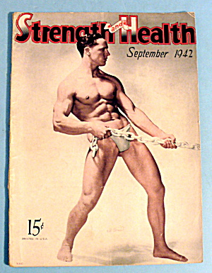 Strength & Health Magazine, Sept. 1942 - Bill Abrecht