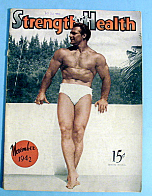 Strength & Health Magazine, November 1942 - John Grimek