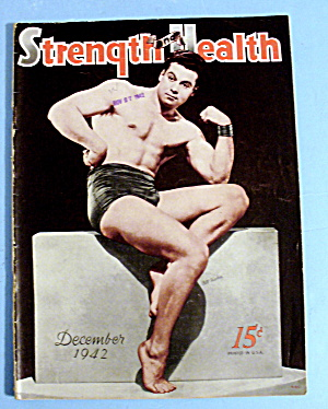 Strength & Health Magazine December 1942 - Bill Fischer