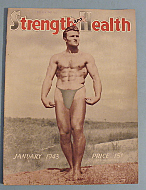 Strength & Health Magazine, Jan. 1943 - Maroin Uruant
