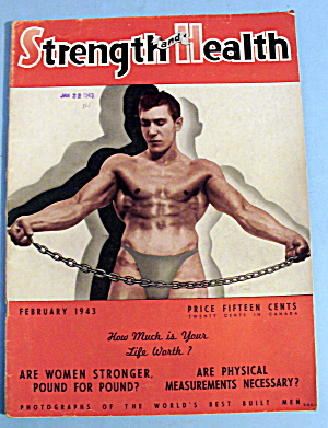 Strength & Health Magazine, Jan. 1943 - Paul Como