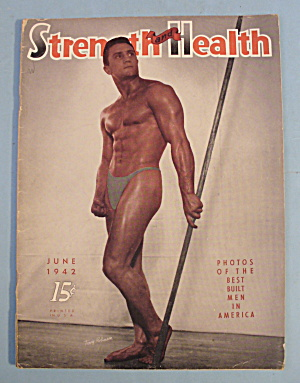 Strength & Health Magazine, June 1942 - Terry Robinson
