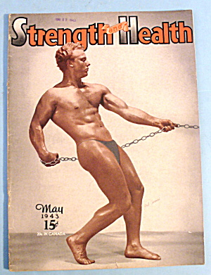 Strength & Health Magazine, May 1943 - Phil Campisi
