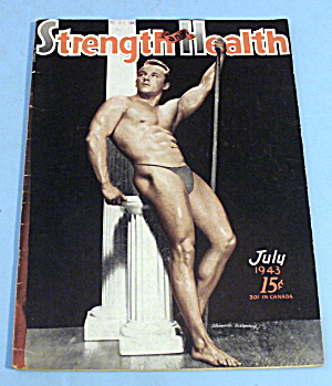 Strength & Health Magazine July 1943 - A. Austopchuck