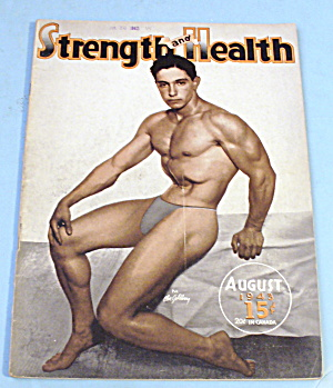 Strength & Health Magazine, August 1943 - Abe Goldberg