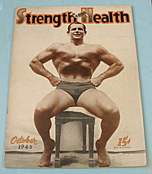 Strength & Health Magazine, October 1943 - Steve Stanko