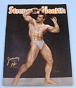 Strength & Health Magazine, January 1945 - John Grimek