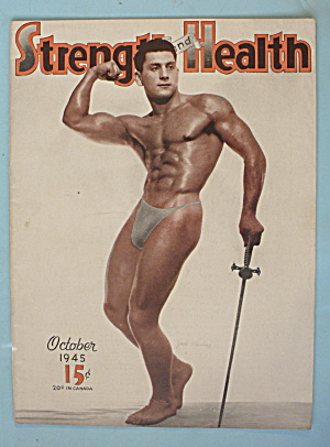 Strength & Health Magazine, October 1945 - J. Kleinberg