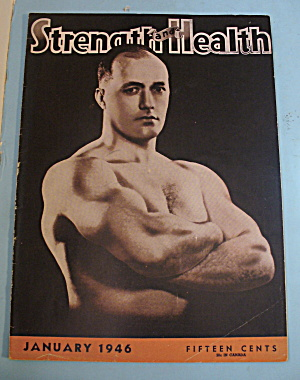 Strength & Health Magazine, January 1946 - Bob Hoffman