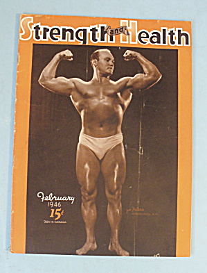 Strength & Health Magazine, February 1946 - Joe Peters