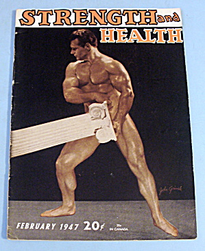 Strength & Health Magazine, February 1947 - John Grimek