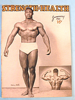 Strength & Health Magazine, January 1949 - Melvin Wells