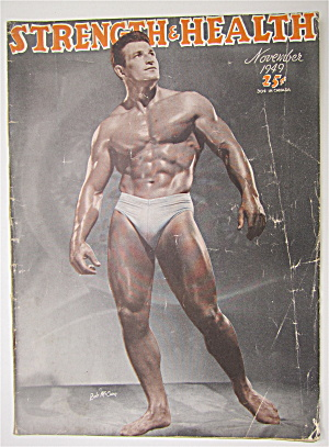 Strength & Health Magazine, November 1949 - Bob Mccune