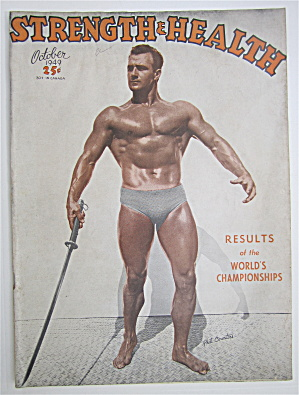 Strength & Health Magazine October 1949 - Phil Courtois