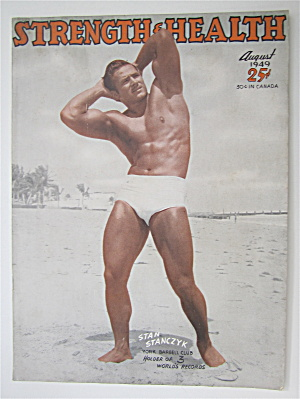 Strength & Health Magazine August 1949 Stan Stanczyk
