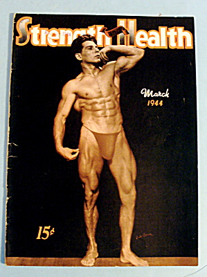 Strength & Health Magazine March 1944 Jules Bacon