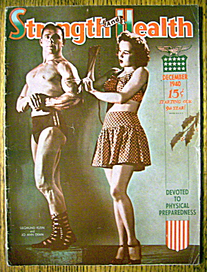 Strength & Health Magazine, December 1940 Klein & Dean