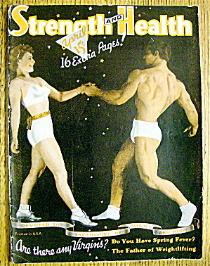 Strength & Health Magazine April 1940 Bard & Grimek