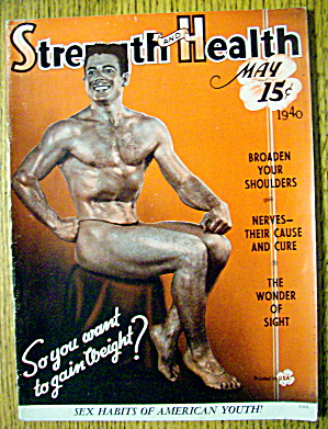 Strength & Health Magazine May 1940 Dick Falcon