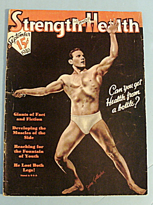Strength & Health September 1940 John Gallagher