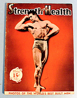 Strength & Health Magazine May 1941 Al Berger