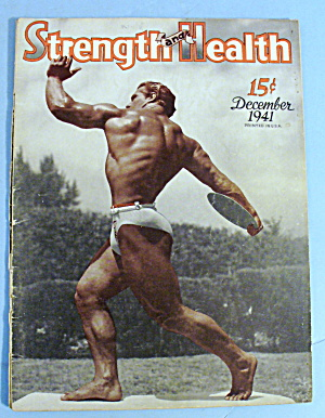 Strength & Health Magazine December 1941 John Grimek