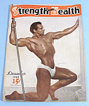 Strength & Health Magazine December 1943 John Grimek