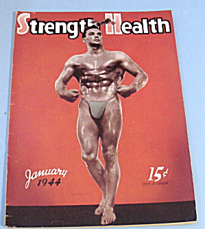 Strength & Health January 1944 Victor Nicoletti