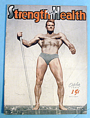 Strength & Health October 1944 Sgt Gene Jantzen